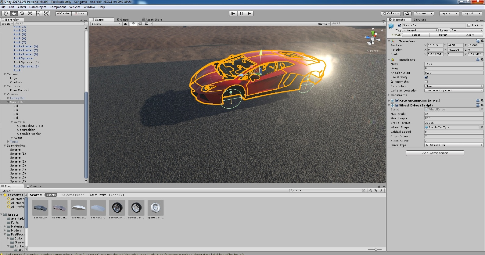 unity car physics problems help unity answers unity 5 car physics problems help