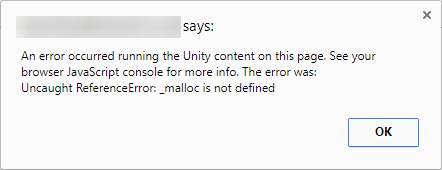 _malloc is not defined