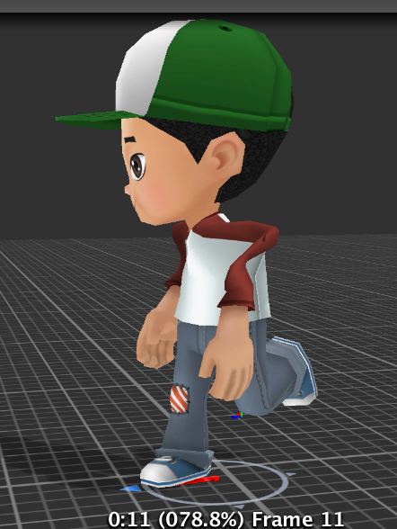 Mesh deforms when importing animated fbx from Blender - Unity Answers