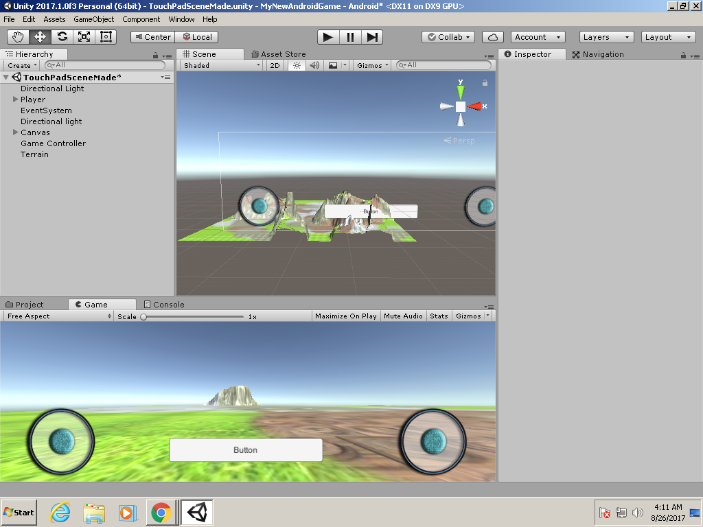 How do I make my player jump on click on the button? - Unity