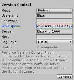 Perforce on Unity - Unity Answers