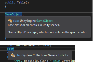 Why does Visual Studio not show tooltip (Intellisense