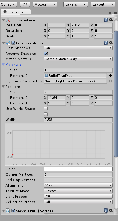 What happened to Line Renderer! - Unity Answers