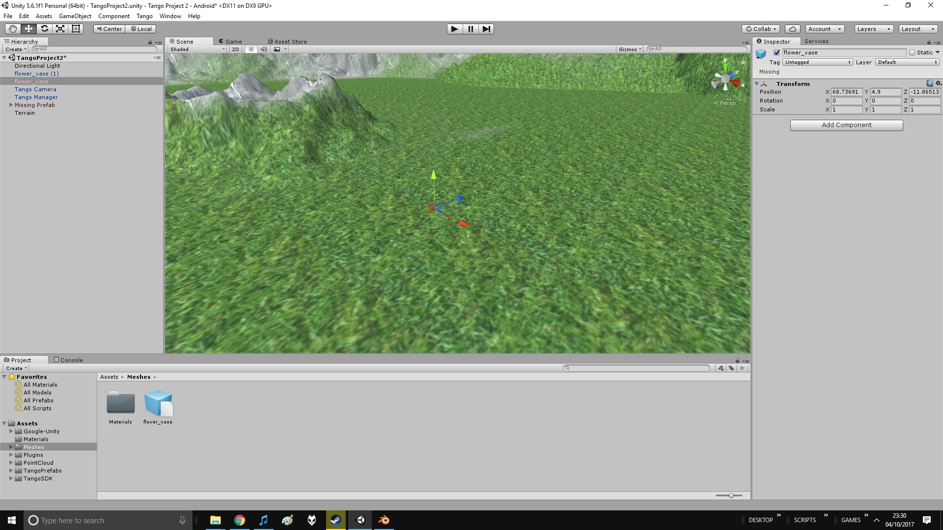 Trying to import a 3D model (point cloud) - Unity Answers