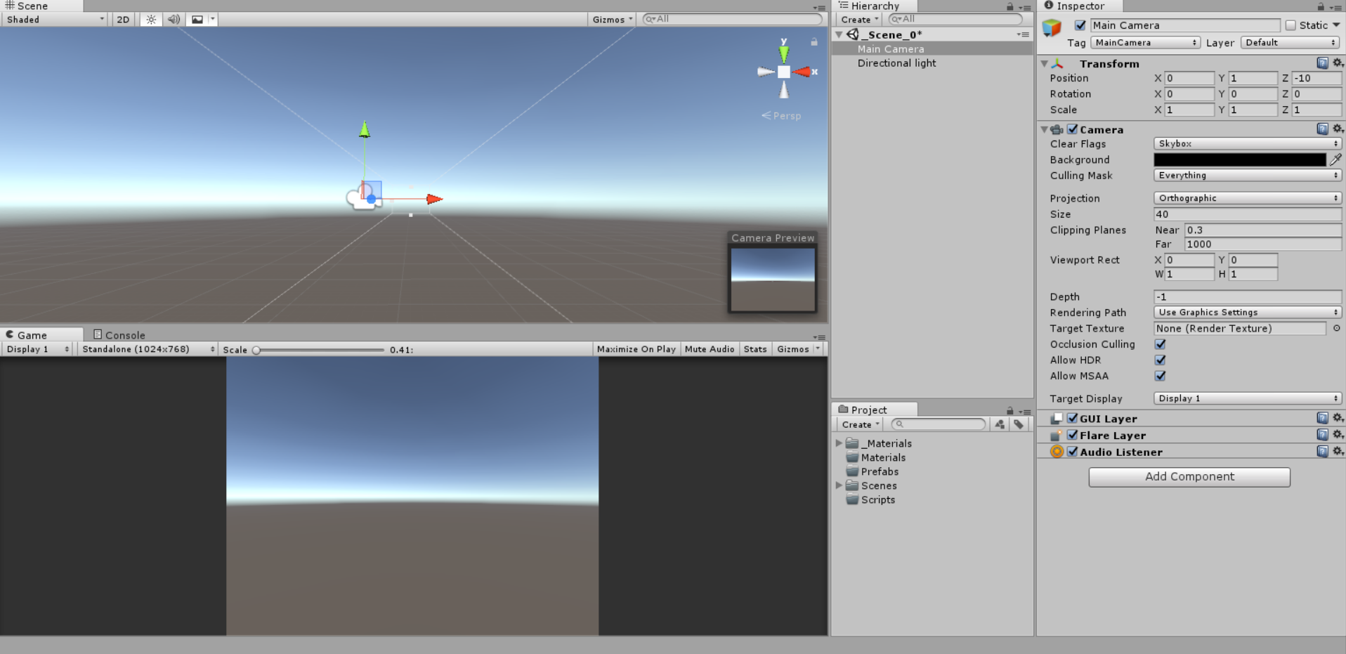 I Can T Change The Main Camera Background Color Unity Answers