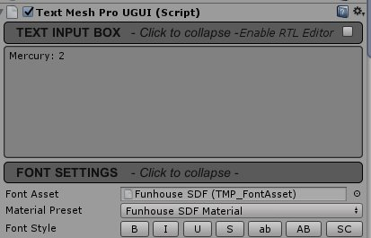 Text Mesh Pro is not displaying the text as I input it