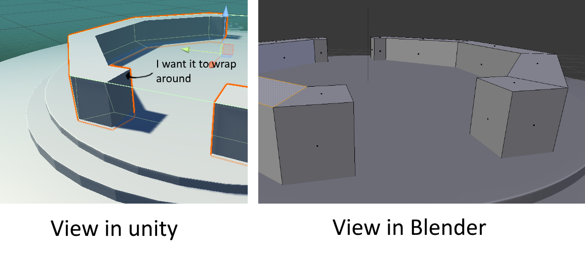 Why is my mesh collider not the same shape as the mesh of