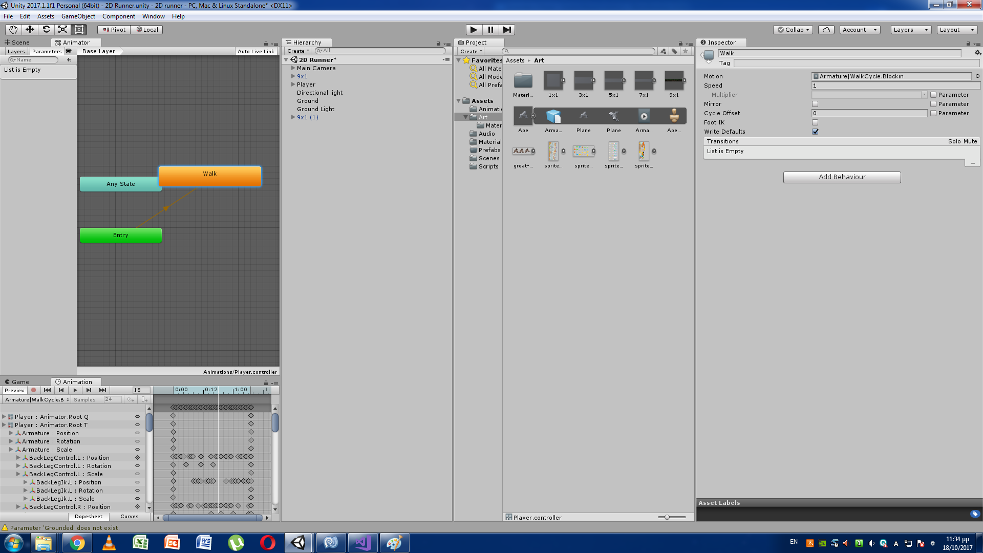 Animation from blender doesn't start - Unity Answers