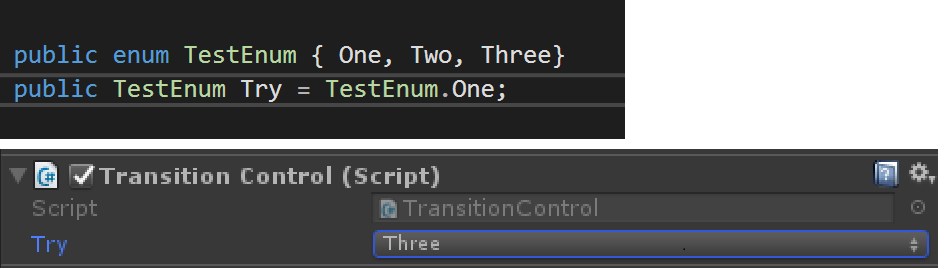 Assigned enum value changes when a new type is added to the