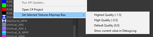 Set MipMap Bias