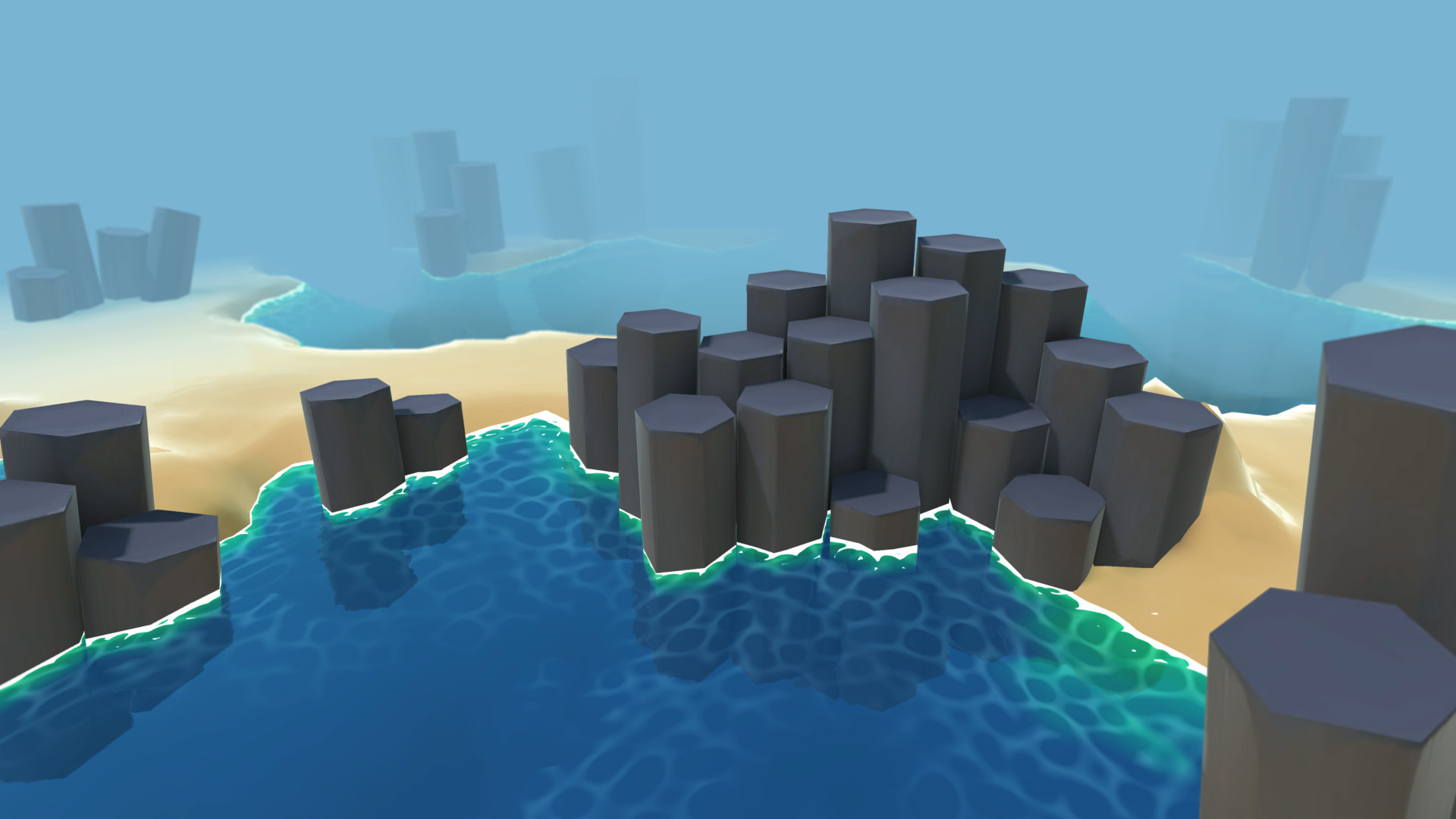 How do I make a water shader that has depth  - Unity Answers
