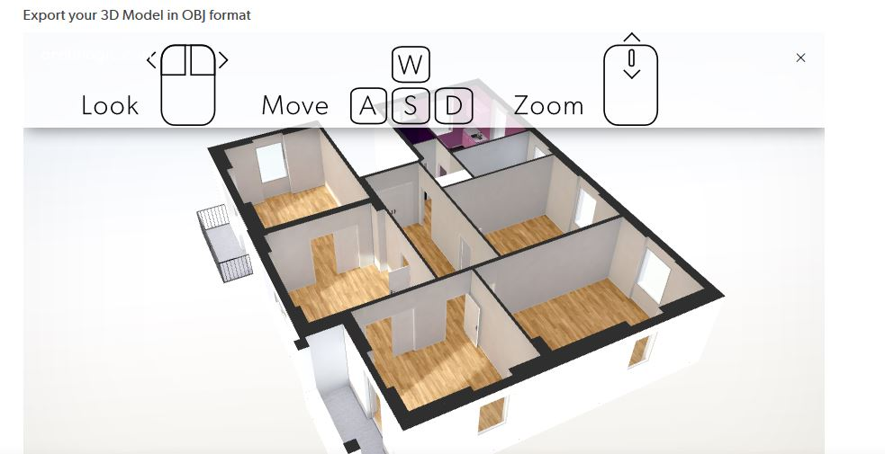 building a vr floorplan with imported obj file unity answers