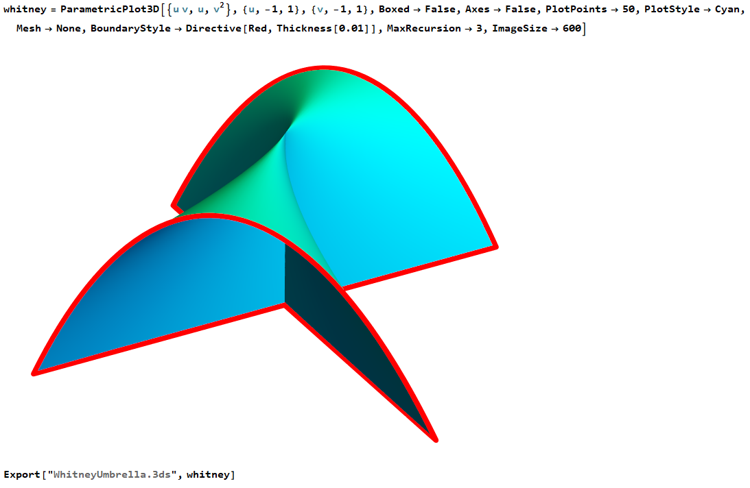 Importing 3D model from Wolfram Mathematica - Unity Answers