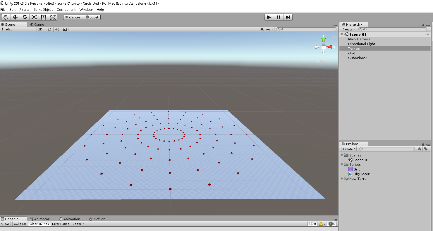 How do I snap an object to a circular grid - Unity Answers