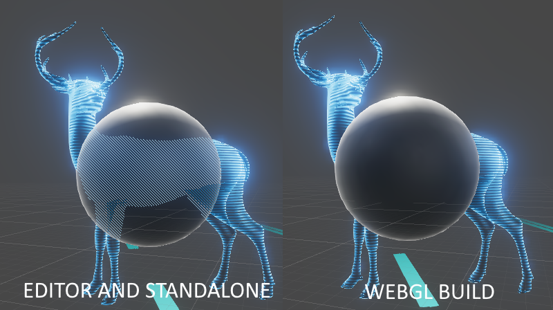 Vertex-fragment shader pass not working in WebGL build  - Unity Answers