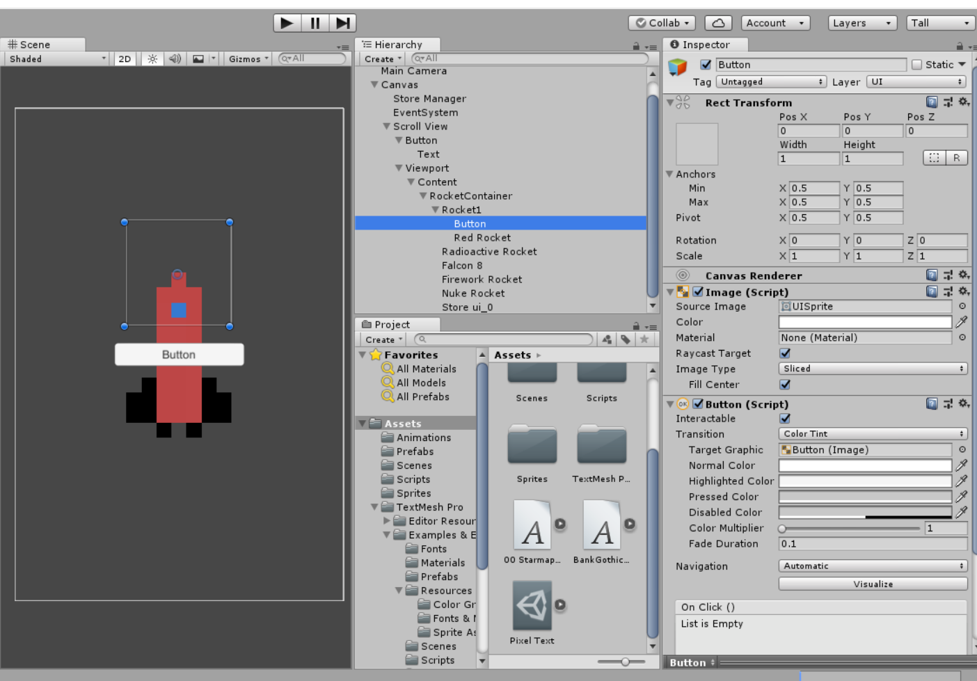 UI elements not showing up in scrollview - Unity Answers