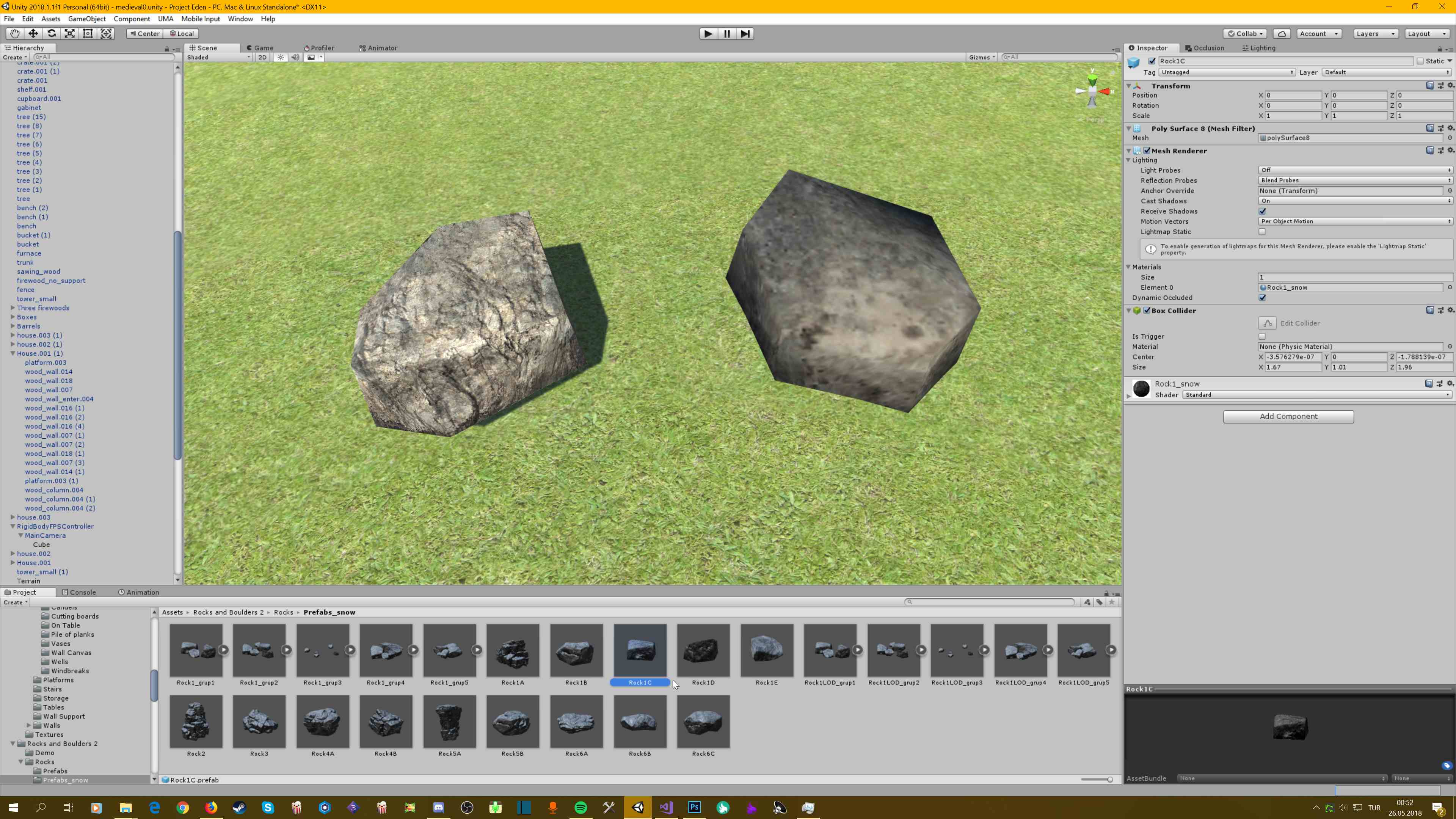 Detail Mesh Texture Looks Weird - Unity Answers