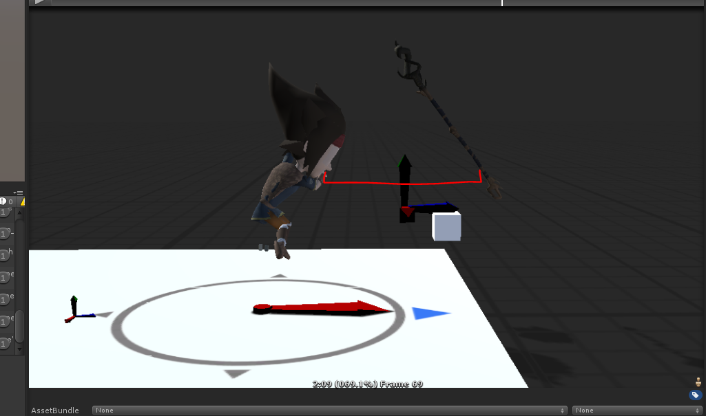 Weapon is ahead of the character when using root motion