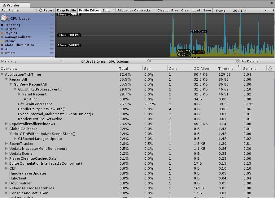 profiler screenshot