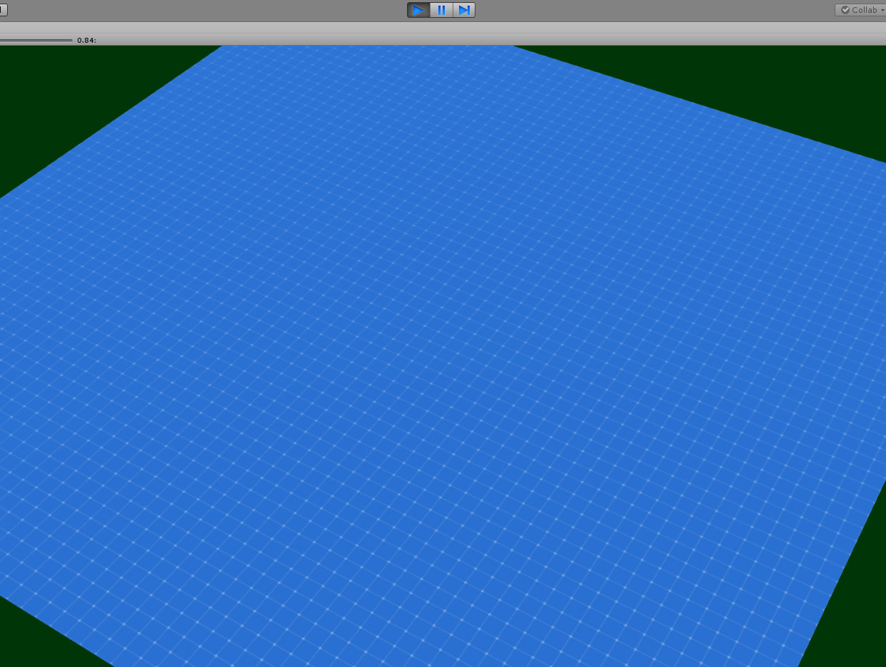 How do I project coloured tiles onto a surface? (C#) - Unity