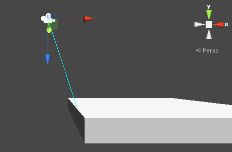 Raycast - Making ray shoot down vertically -Vector up - Unity Answers