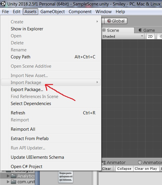 Unity won't let me import packages anymore  - Unity Answers