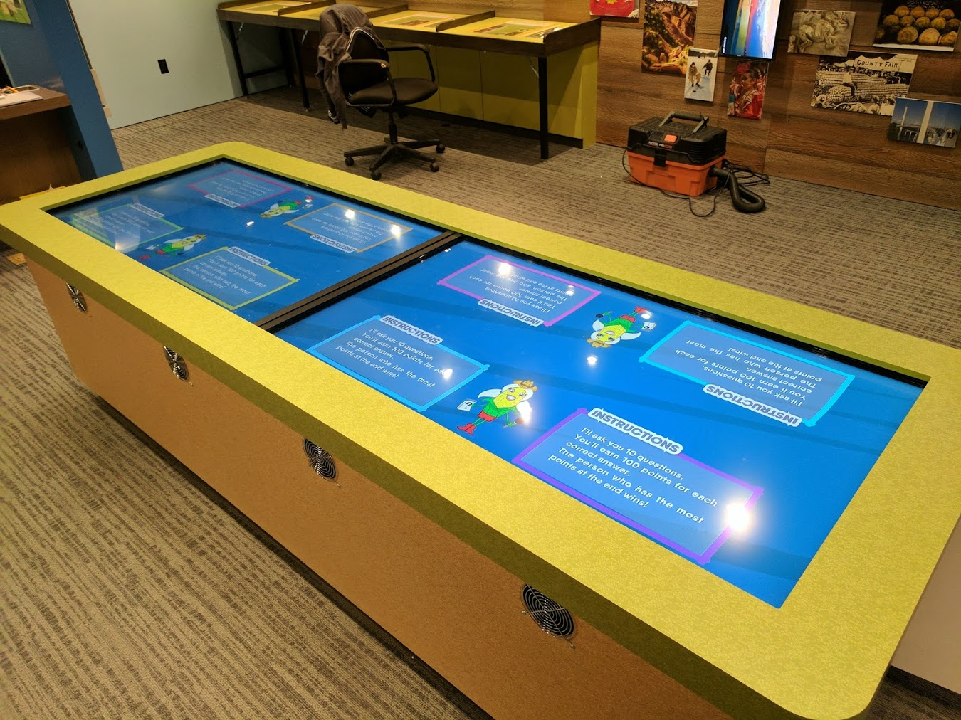 Two Touchscreens  Multi-input works fine on first display