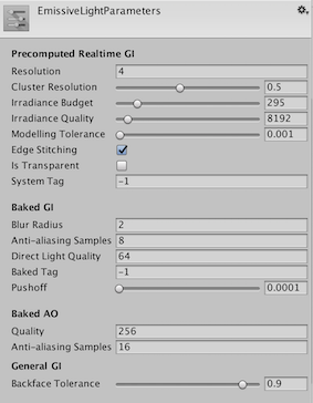 Inconsistent realtime emission on static objects - Unity Answers