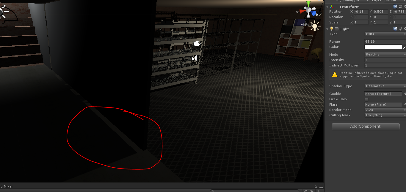 Light leaking through walls how I can block / is possible