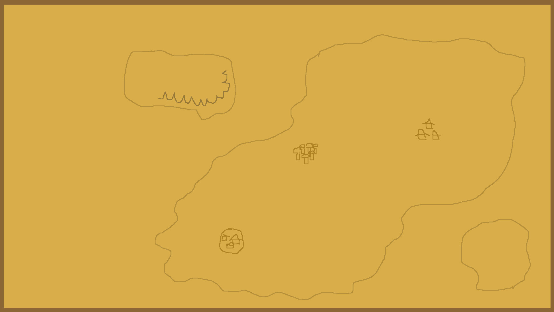 This is how the map looks like