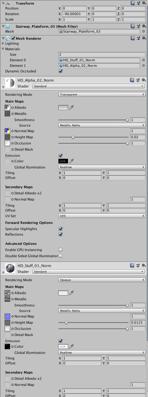 How properly export an object in fbx/obj format with materials and
