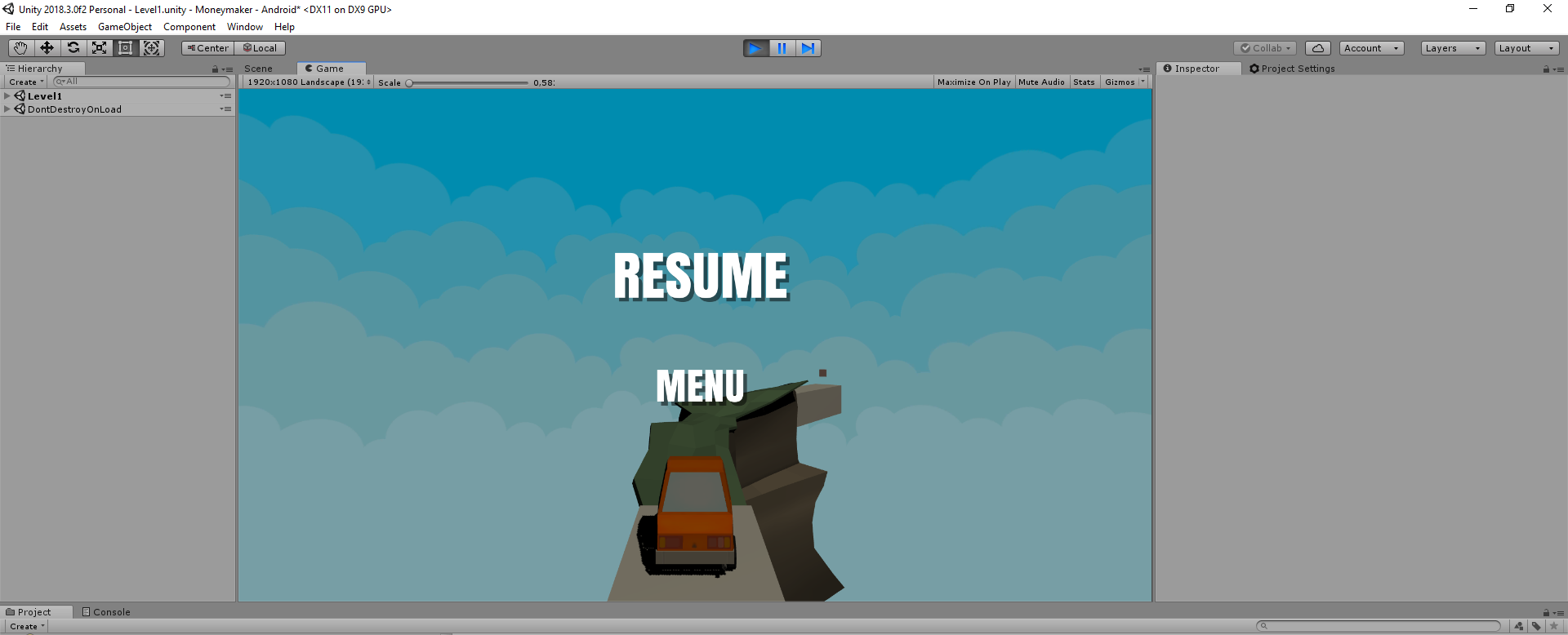Help! Unity does not include all of my UI elements in the