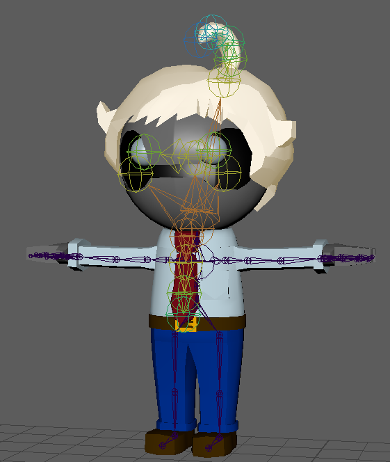 Model deforms when imported from Maya - Unity Answers