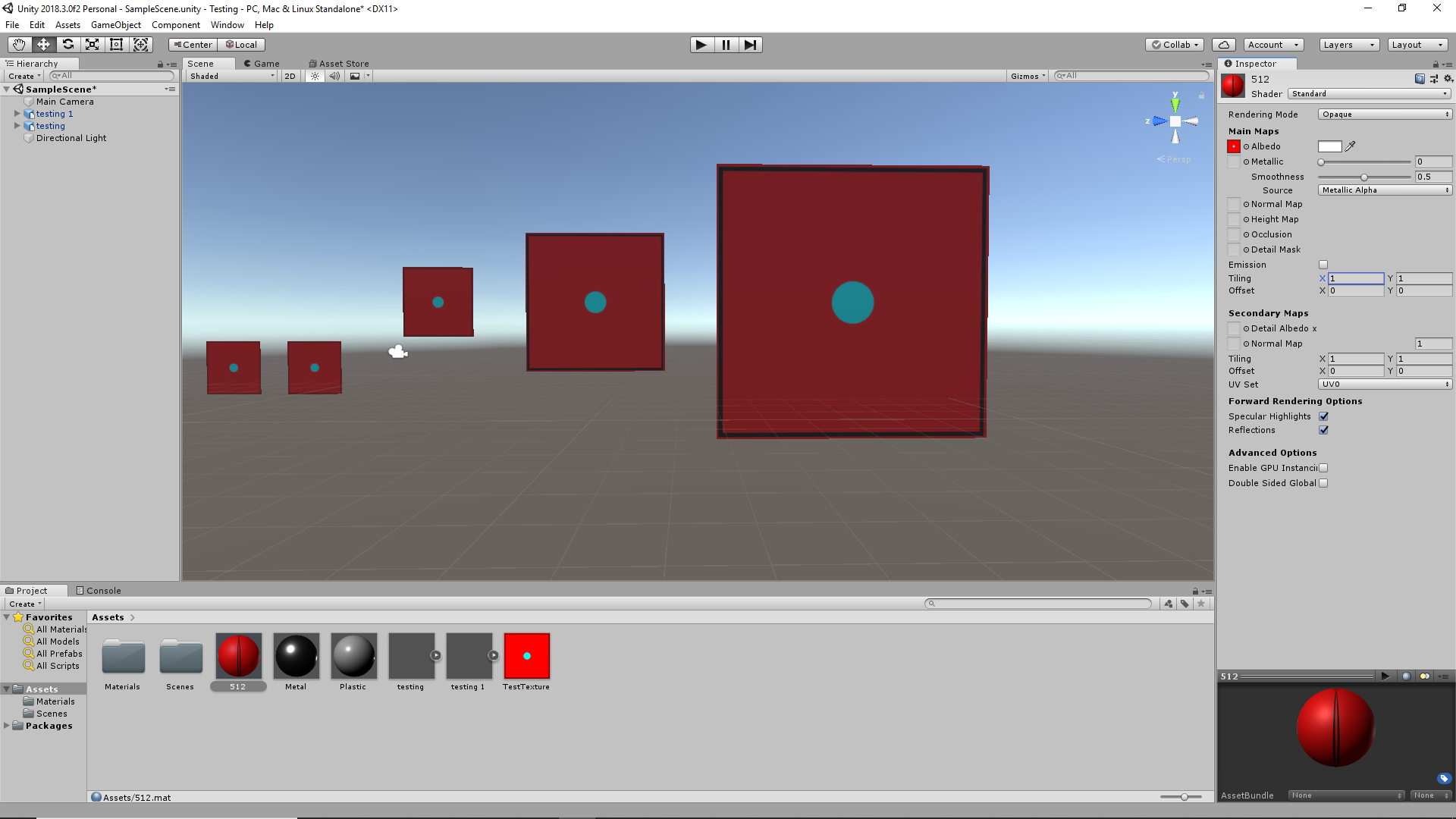 How to clamp tiling of texture to units rather than surface