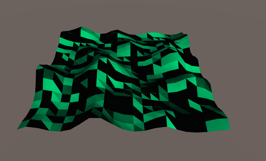 Issues with Low Poly Shader on Mesh - Unity Answers