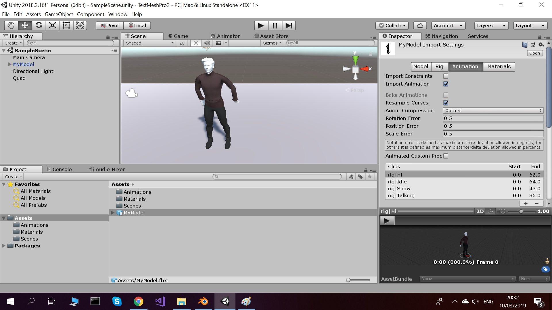 Blender -> Unity : wrong positions of some bones and
