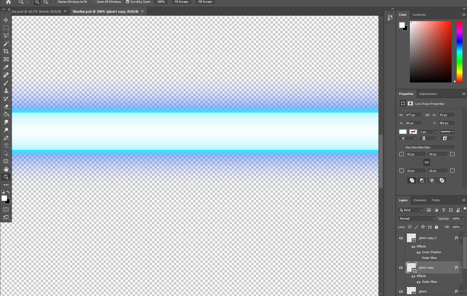 Why dose unity change the colors of my Photoshop files