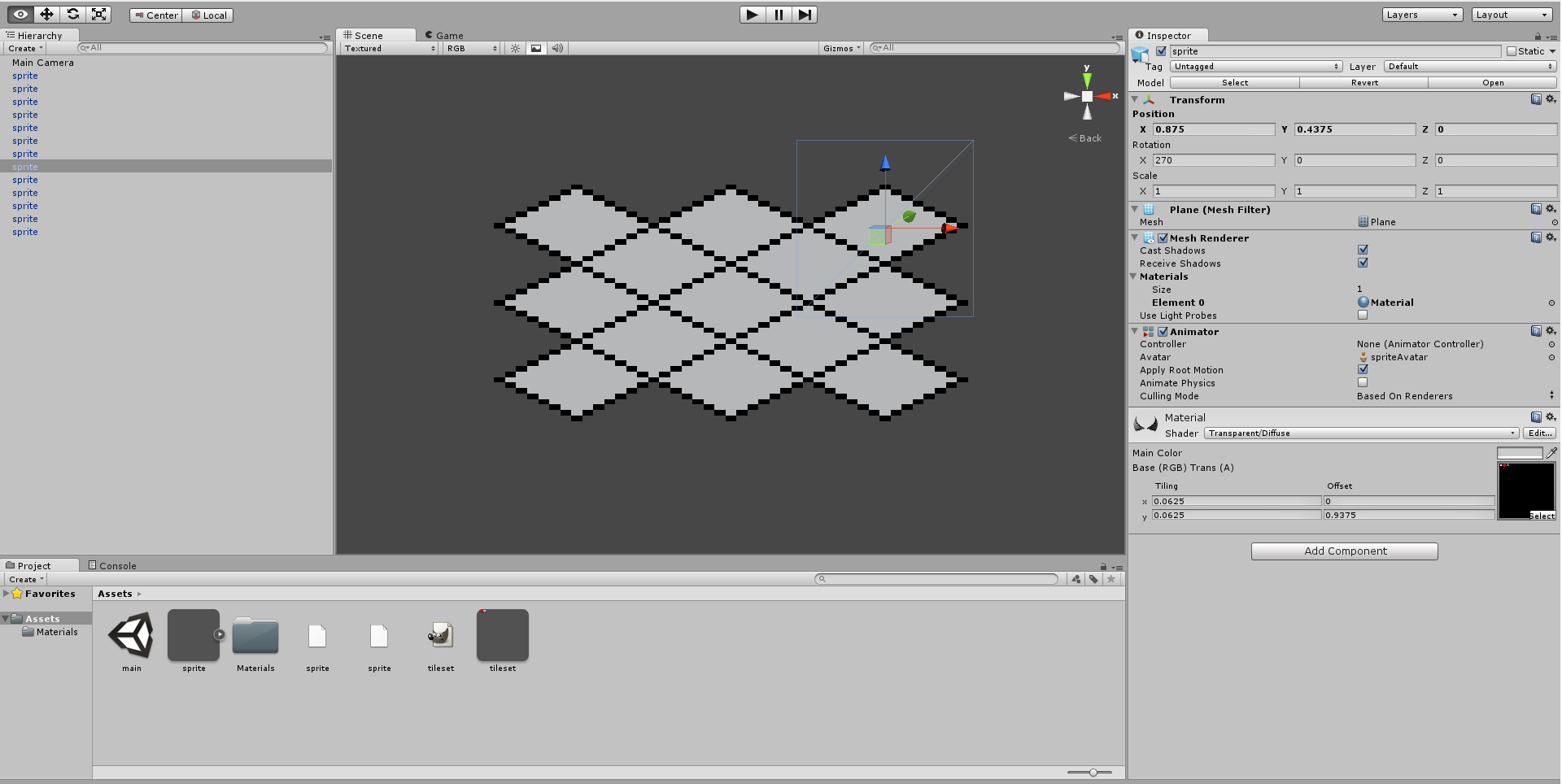 2D/Orthographic Tile Alignment Issue - Unity Answers