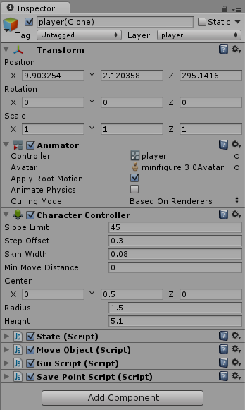 Why is my character Controller NOT colliding with