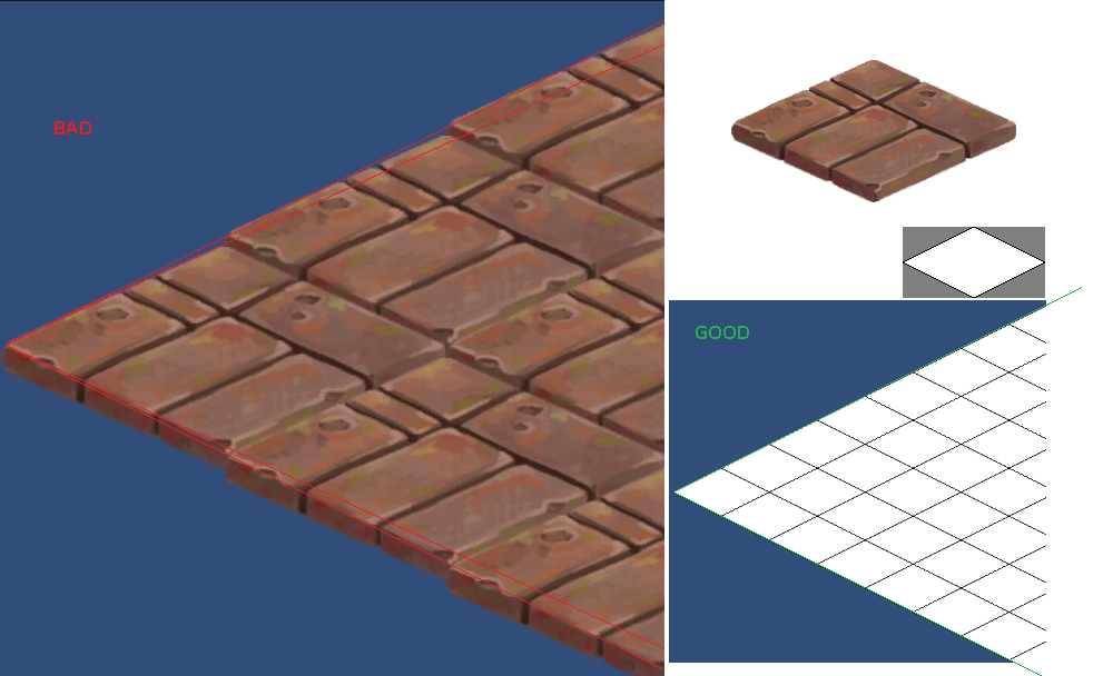 How do i properly draw complex 2d isometric tiles unity answers isometric art problemg tyukafo