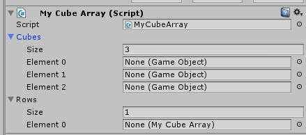 Assigning a gameobject to an array - Unity Answers