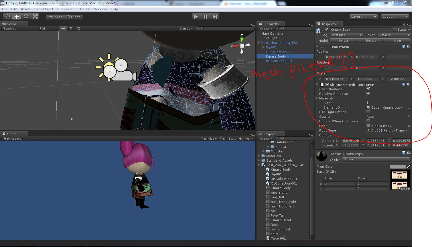 Mesh Filter not appeared in my unity project - Unity Answers