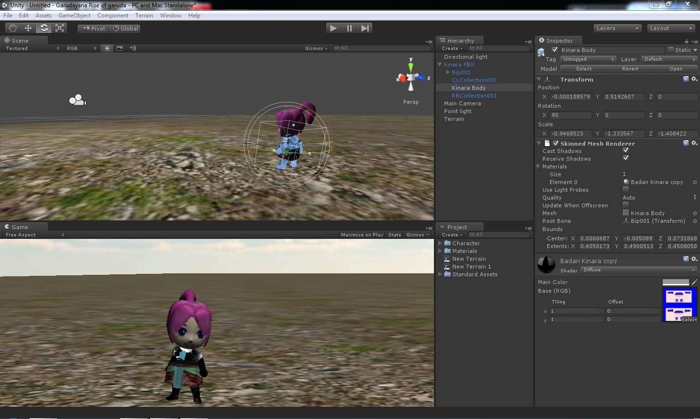 Need Help > Why my 3D modelling became transparent - Unity