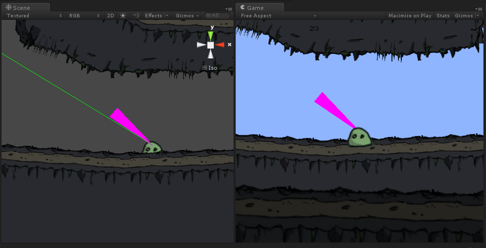 Line Drawing Unity : Drawing a direction arrow unity answers