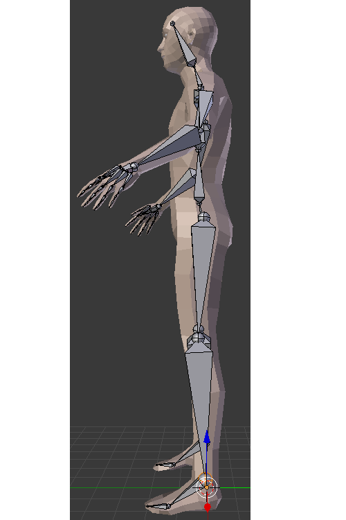 Problem with stiff joints for ragdoll character from blender