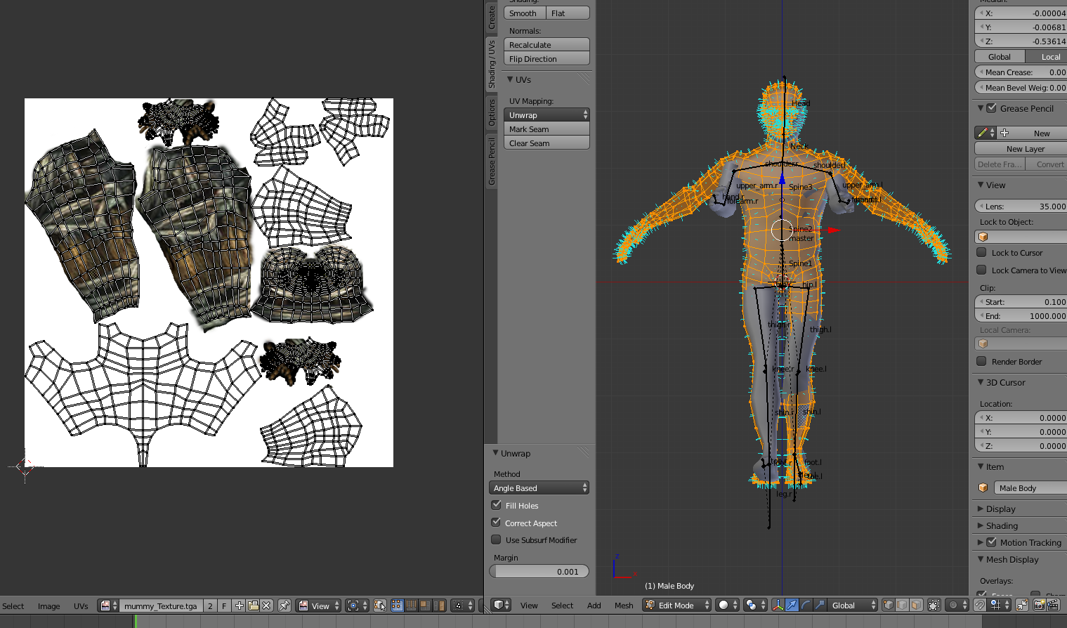 Blender Uv Mapping Blender UV map not importing correctly   Unity Answers