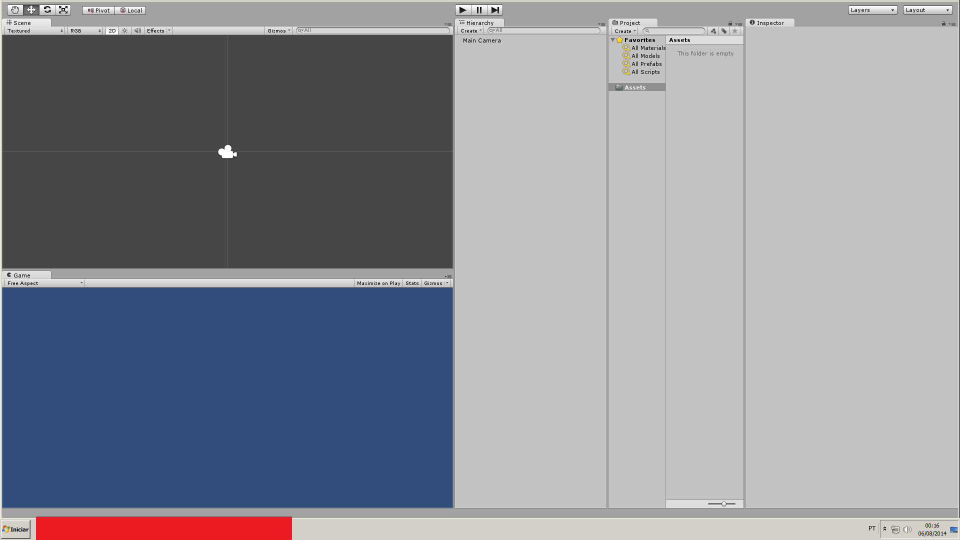 Just installed Unity, cannot see menu bar - Unity Answers