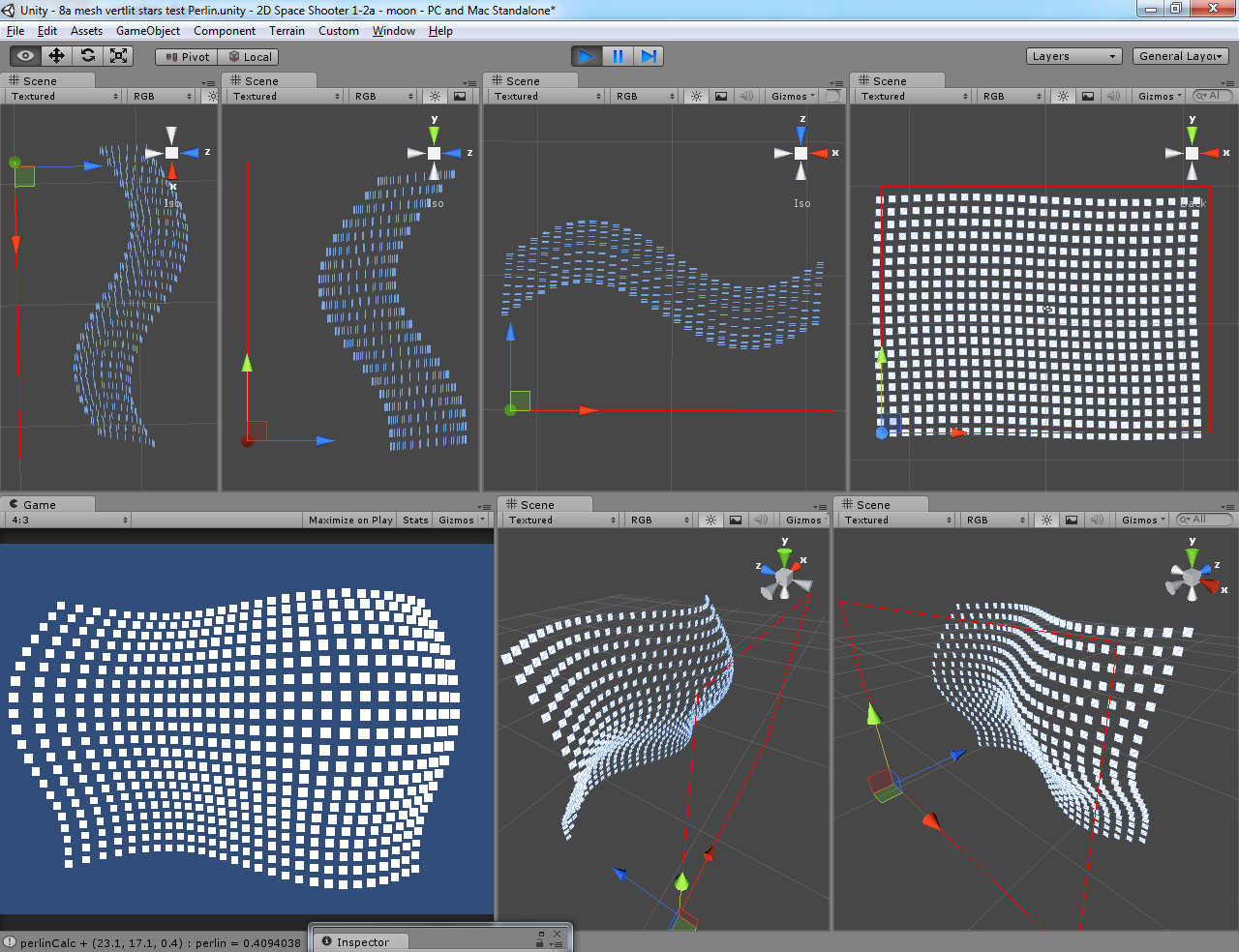 Is this reading the full range of Perlin Noise? - Unity Answers