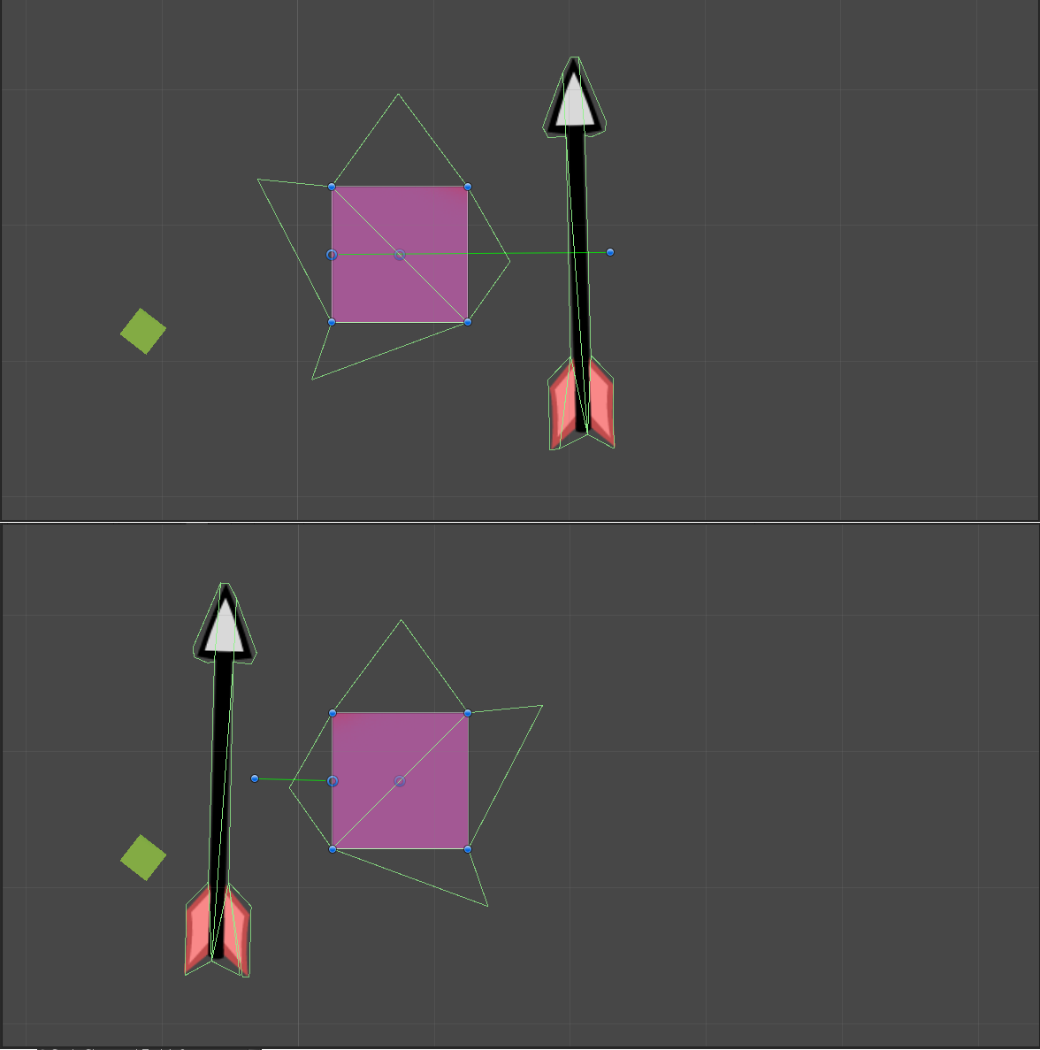 huge physics 2d bug need help a work around unity answers physics rotating problems everywhere png