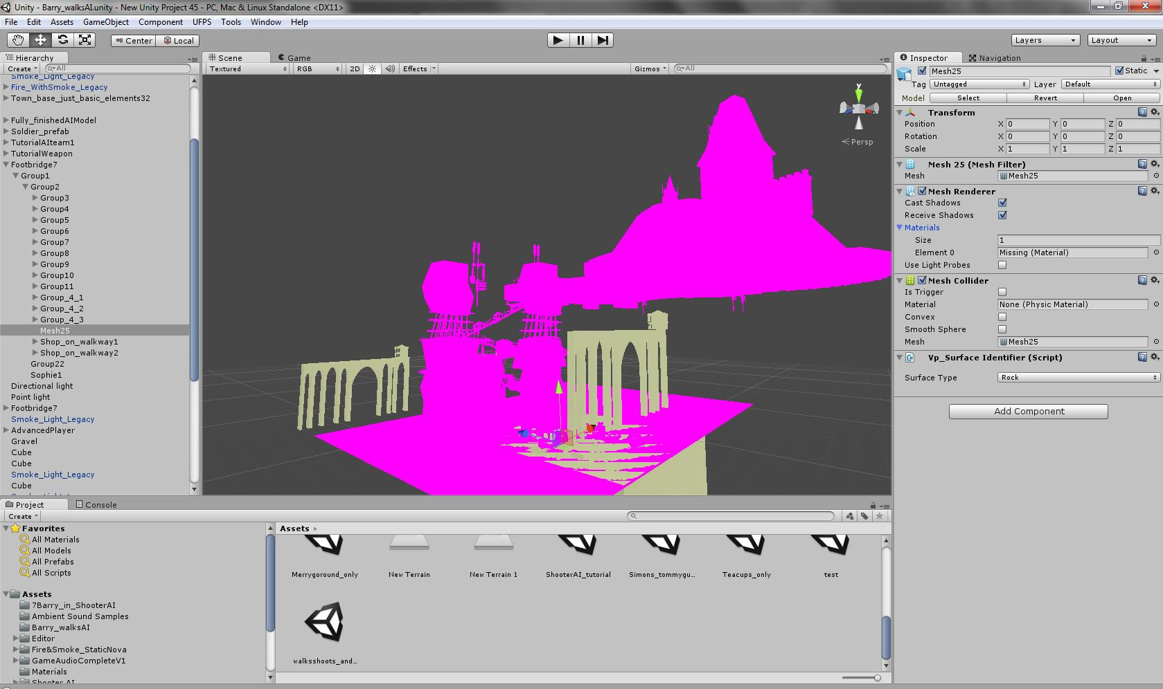 Textures turn Pink - Unity Answers
